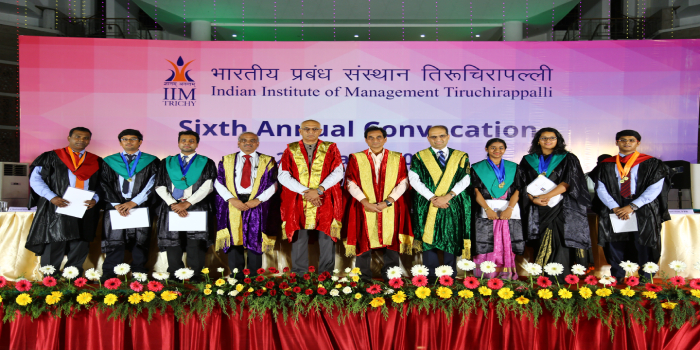 IIM Trichy Holds Sixth Annual Convocation on March 24; 195 students conferred diplomas