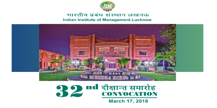 IIM Lucknow conducts 32nd Annual Convocation; 613 students graduate