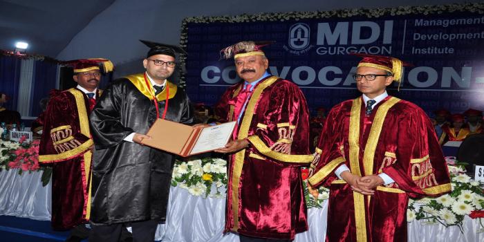 MDI Gurgaon Convocation 2018 - 489 students graduate