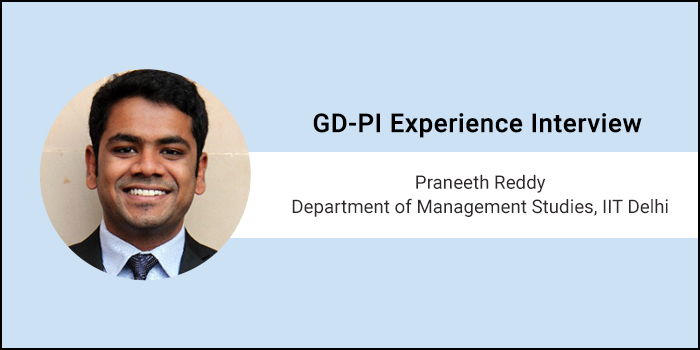 How to crack GD-PI: Prepare a structure for the GD topic mentally and put in all the points, says Praneeth Reddy of DMS, IIT Delhi