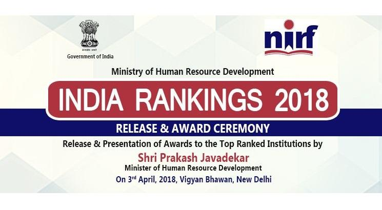 NIRF India Rankings 2018: MHRD releases law colleges ranking