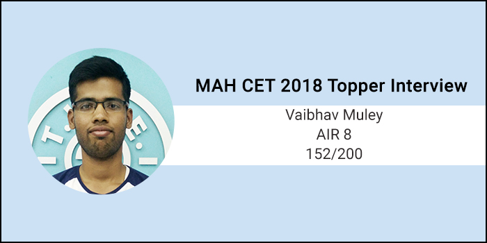 MAH CET 2018 Topper Interview: Allot the right amount of time to every section as per your strengths, says AIR