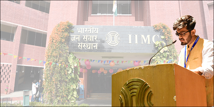 Campus Life at IIMC Delhi - Experience it with Sandesh Chaurasia