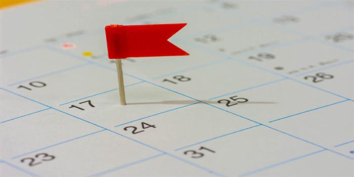 JEMAT Important Dates 2018
