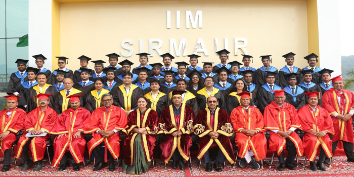 IIM Sirmaur honours 35 students with MBA Degrees at its 2nd Annual Convocation
