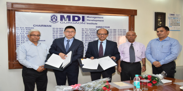 MDI Gurgaon and ESCP Europe Join Hands for Dual Degree, sign MoU