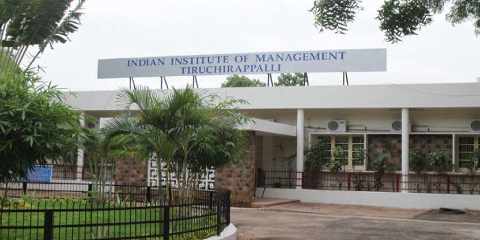 IIM Trichy Final Placements 2018: Average Salary increased by 7 4