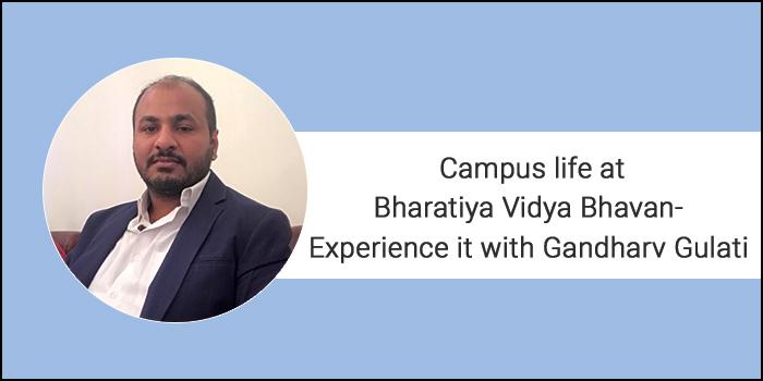 Campus life at Bharatiya Vidya Bhavan