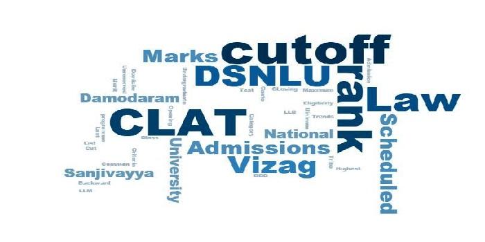 DSNLU Visakhapatnam Cutoff 2019