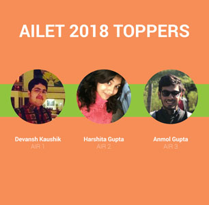 AILET 2018 Toppers