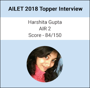 AILET 2018 Topper Interview: Take mock tests regularly to devise exam taking strategy, says Harshita Gupta, AIR 2