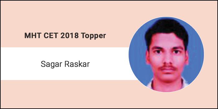 "MHT CET 2018 Topper Interview– ""Study Smart and Focus on HSC Books for Preparation"" says Sagar Raskar"