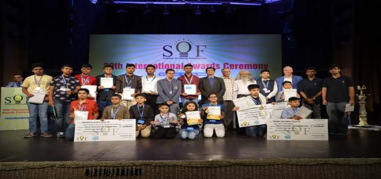 SOF awards 180 international olympiad winners