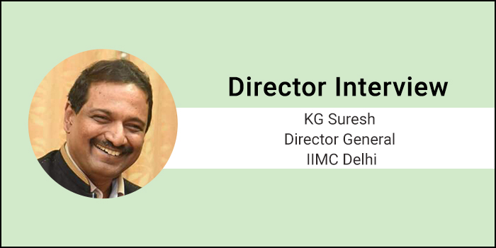 "IIMC Director General Interview- ""We have the expertise, experience and can fulfill the Expectation,"" says DG of IIMC KG Suresh"