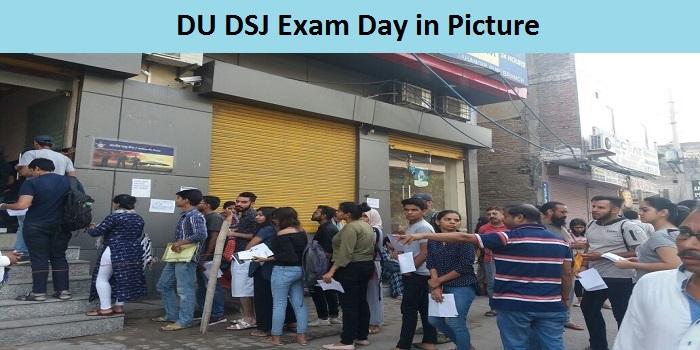 DU DSJ 2018 Exam Day in Pictures