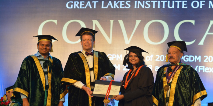 605 students graduate at Great Lakes Chennai's 14th Annual Convocation Ceremony