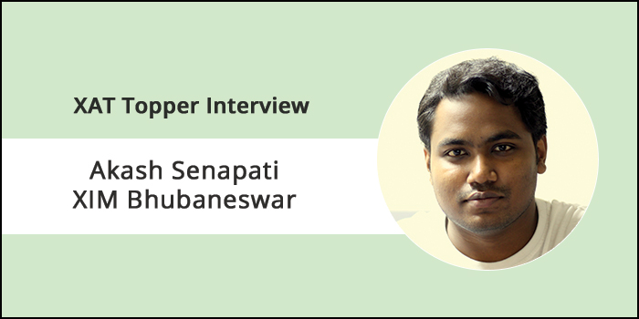 XAT 2018 Topper Interview: Time management skills can only be developed after taking mock exams, says Akash Senapati