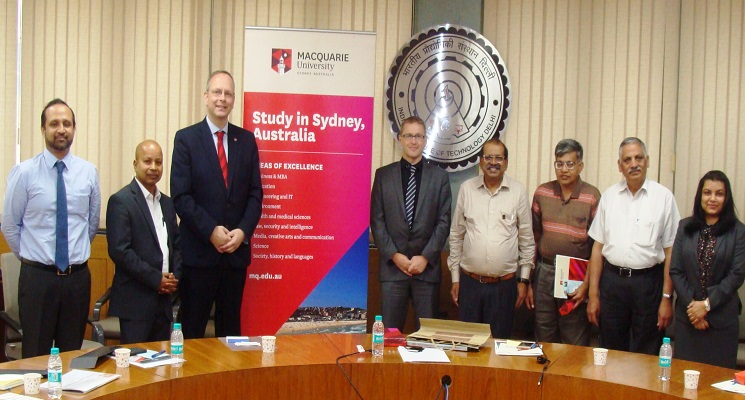 Macquarie University & IIT Delhi collaborate for joint research and academic activities