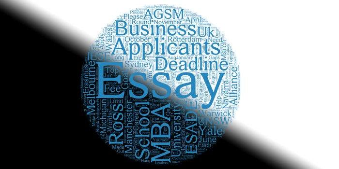 MBA Essays: Topics from the Top 30 Business Schools