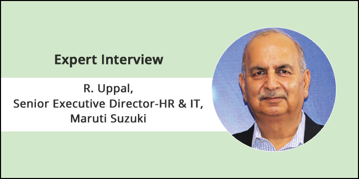 A 'learning organization' is the only way for survival in the changing business environment, says R. Uppal, Senior Executive Director-HR & IT of Maruti Suzuki