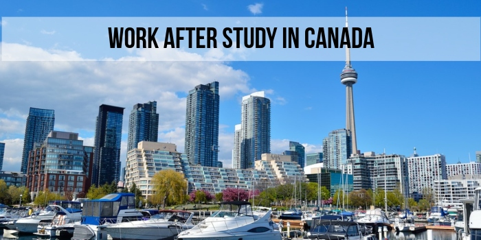 Work after study in Canada