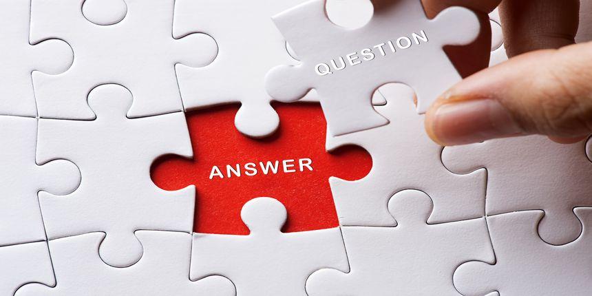 KEAM Answer Key 2019 Paper 2 (Mathematics) - Code B1, B2, B3, B4