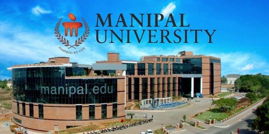 Manipal University Admission 2019