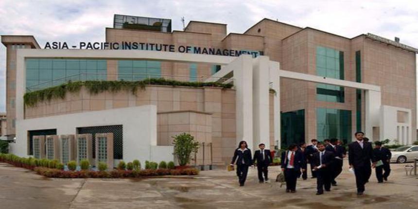 Asia-Pacific Institute of Management PGDM Admissions 2019