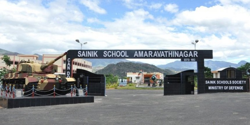 Sainik School Amaravathinagar Admission 2019