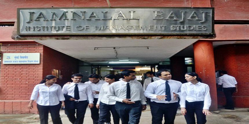 JBIMS Mumbai Summer Placement Report 2018-20 - BFSI recruits highest, consulting recruitment rises