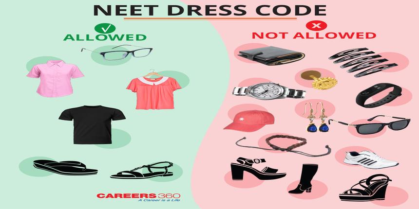 NEET Dress Code 2019 (Male & Female) - Instruction by NTA