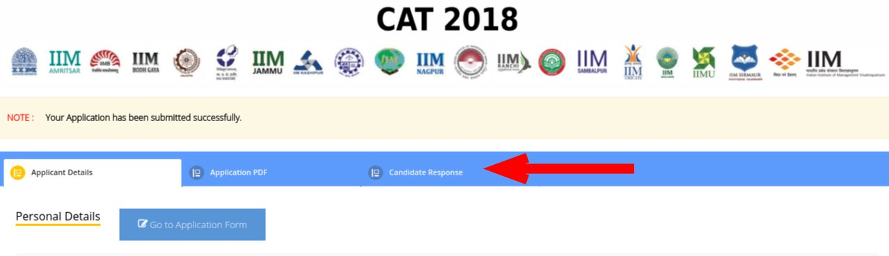 CAT 2018 Question Paper