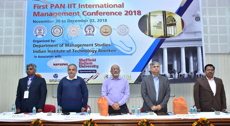 IIT Roorkee hosts First Pan IIT International Management Conference