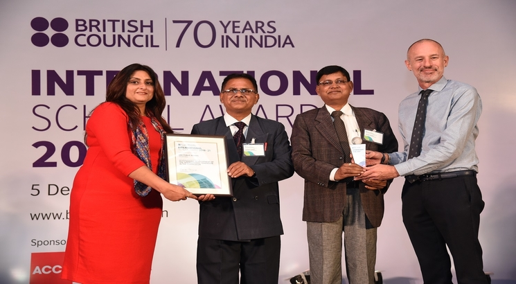 Over 200 Schools receive British Council International School Award