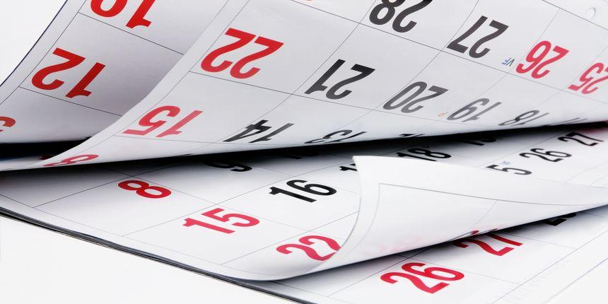 CCMT Important Dates 2019