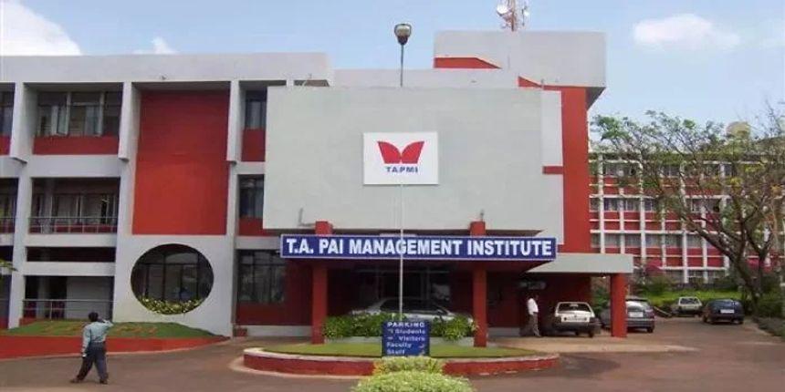 TAPMI Admission 2019