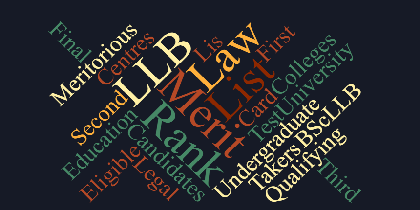 DU LLB Merit List 2019