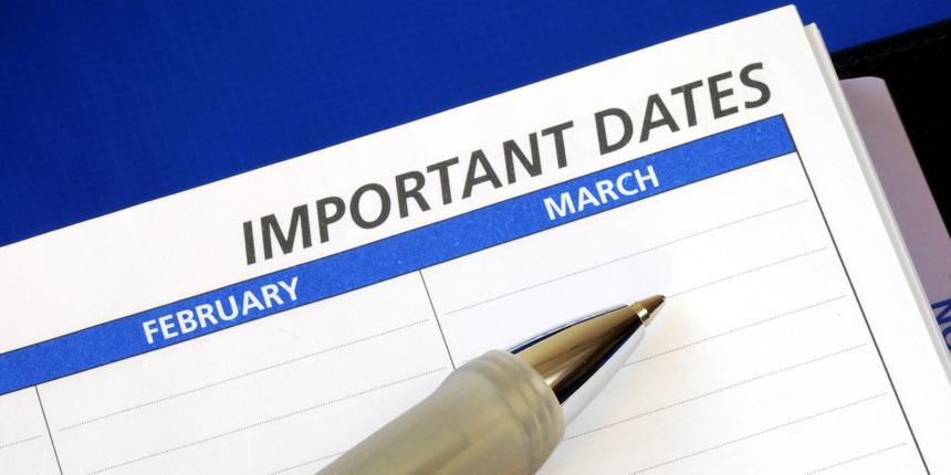 DU LLB Important Dates 2020