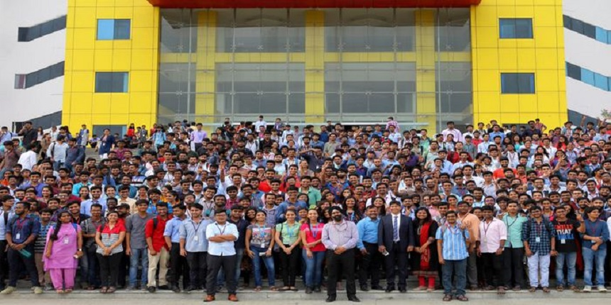 SRM Institute of Science and Technology Placement Report 2019