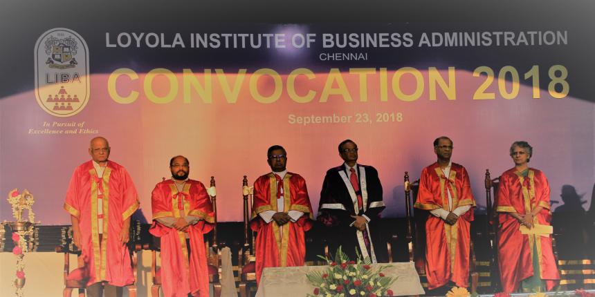 LIBA Chennai Holds 37th Annual Convocation