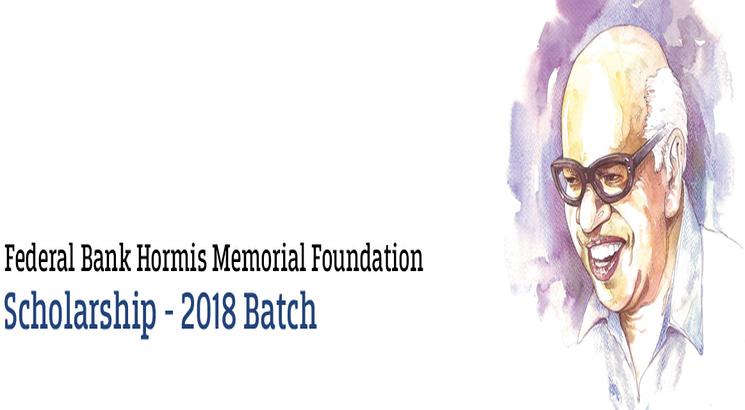 100 students awarded Federal Bank Hormis Memorial Scholarship