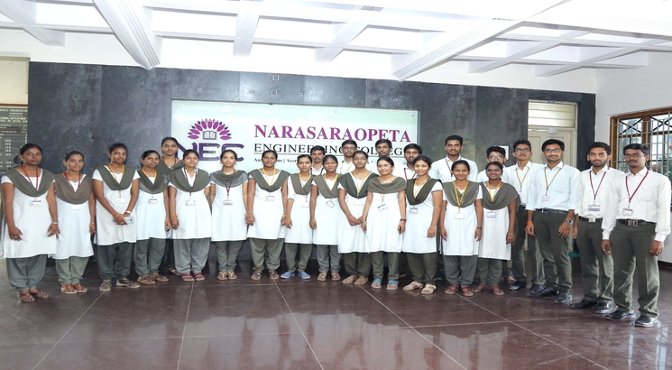 Of 725 NEC Guntur students who participated in placement drive, 703 got offers