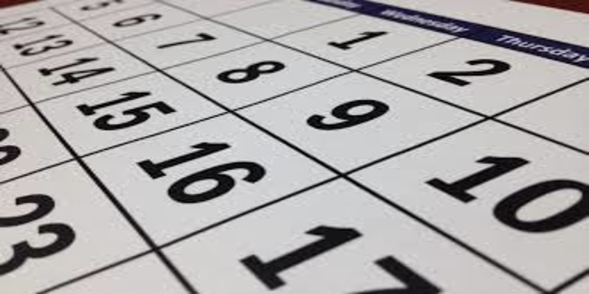 DU LLM Important Dates 2019