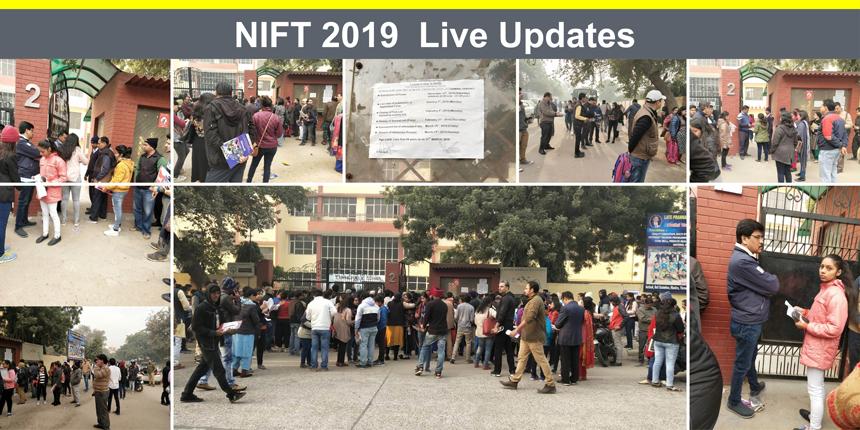 NIFT 2019 Live Updates