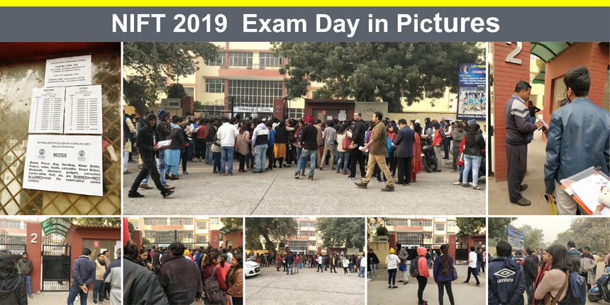 NIFT 2019 Exam Day in Pictures