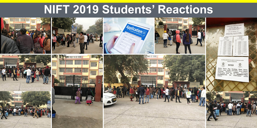 NIFT 2019 Students' Reactions