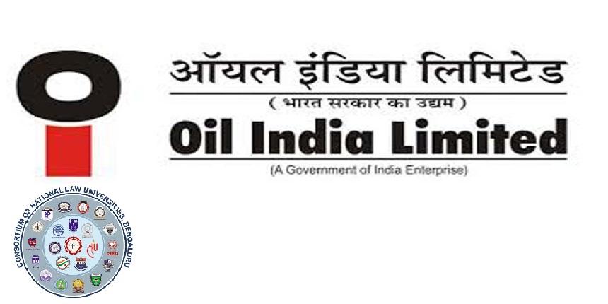 OIL recruitment through CLAT 2019