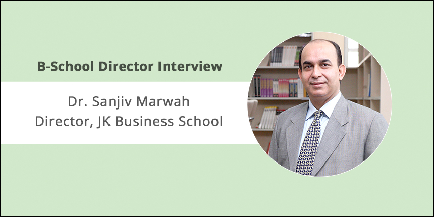 The curriculum and pedagogy are updated as per industry needs: Dr. Sanjiv Marwah, Director, JKBS