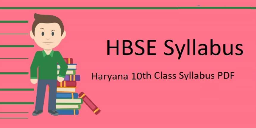 HBSE 10th syllabus 2019