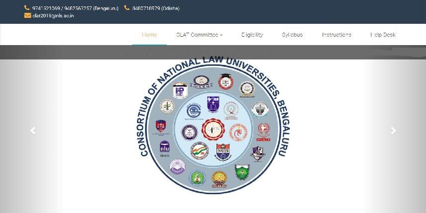 CLAT Official Website 2019